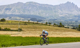 O ciclista Mark Cavendish Fotografia de Stock