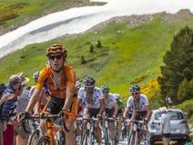 O ciclista Mikel Nieve Iturralde Fotografia de Stock Royalty Free