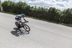 O ciclista Pascal Ackermann - Critério du Dauphine 2017 Fotos de Stock Royalty Free
