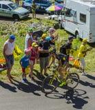 O ciclista Romain Sicard - Tour de France 2016 Fotos de Stock Royalty Free