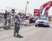 O ciclista Roy Curvers Imagem de Stock