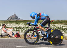O ciclista Thomas Danielson Imagens de Stock Royalty Free