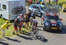 O ciclista Tom Dumoulin - Tour de France 2016 Fotos de Stock Royalty Free