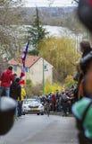 O ciclista Tyler Farrar - 2016 Paris-agradável Imagem de Stock Royalty Free