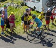 O ciclista Vincenzo Nibali - Tour de France 2016 Fotografia de Stock