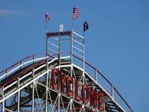 O ciclone 88 de Coney Island Imagem de Stock Royalty Free