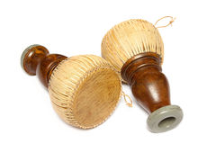 O cilindro tailandês, percussão tailandesa velha de Tapon rufa Fotografia de Stock