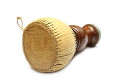 O cilindro tailandês, percussão tailandesa velha de Tapon rufa o instr tailandês da música Foto de Stock