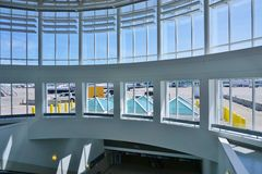 O Cincinnati/aeroporto internacional do norte de Kentucky (CVG) Imagem de Stock Royalty Free