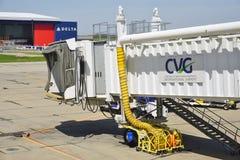 O Cincinnati/aeroporto internacional do norte de Kentucky (CVG) Fotografia de Stock Royalty Free