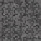 O cinza alinha a textura sem emenda fotografia de stock