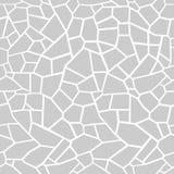 O cinza apedreja o fundo Tracery sem emenda do mosaico ilustração do vetor