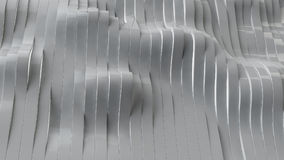 o cinza 3d listra o fundo, ilustração 3d Imagens de Stock Royalty Free
