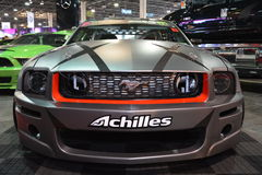 O cinza escuro coloriu o carro ajustado Imagens de Stock Royalty Free