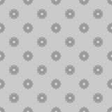 O cinza pequeno floresce o fundo sem emenda Imagens de Stock