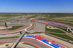 O circuito do autódromo de Americas Foto de Stock