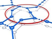 O circuito do subterrâneo ilustração stock