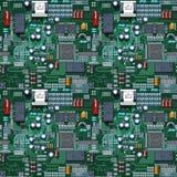 O circuito telhou Imagem de Stock Royalty Free
