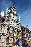 O Cityhall de Antwerpen Imagem de Stock
