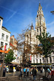 O Cityhall de Antwerpen Imagem de Stock Royalty Free