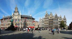 O Cityhall de Antwerpen Foto de Stock Royalty Free