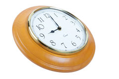9 o'clock clock Stock Photo
