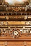 O'clock in the New york public library Stock Photos