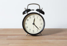 It is 12:23 o`clock. Royalty Free Stock Photography