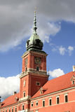 O clocktower de Royal Palace Foto de Stock Royalty Free