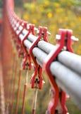 O close up de cabos do pacote Fotografia de Stock