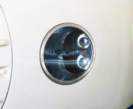 O close up de shinkansen o farol Imagens de Stock Royalty Free