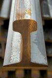 O Close-up do trilho Foto de Stock Royalty Free