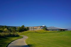 O clube de golfe imagem de stock