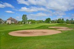 O clube de golfe real de Bromont Imagem de Stock