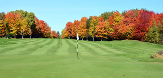O clube de golfe real de Bromont Fotografia de Stock