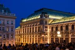 O clube provisório de quarta-feira para Art Lovers And Friends Party em Albertina Museum In Vienna Fotografia de Stock