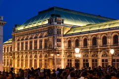 O clube provisório de quarta-feira para Art Lovers And Friends Party em Albertina Museum In Vienna Imagens de Stock