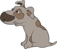 O cão de caça. Desenhos animados Imagem de Stock Royalty Free