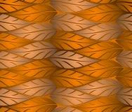 O cobre sem emenda sae do fundo ilustração stock