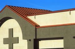 O cobre telhou a igreja Imagem de Stock Royalty Free