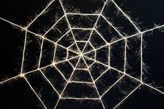 O cobweb glamoroso Fotos de Stock