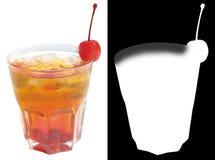 O cocktail alcoólico escocês efervesce Foto de Stock