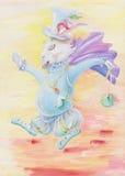 O coelho é de um conto de fadas Fotografia de Stock