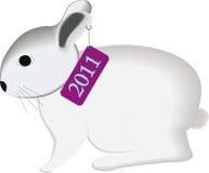 O coelho 2011 ilustração stock