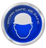 O cofre forte do trabalho seja seguro Foto de Stock Royalty Free