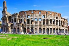 O coliseu em Roma, Itália Fotografia de Stock