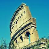 O coliseu em Roma, Itália imagens de stock