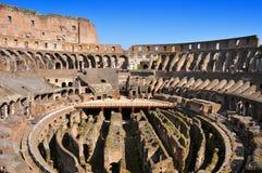 O coliseu em Roma, Itália Imagem de Stock