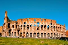 O coliseu em Roma, Italy Fotografia de Stock