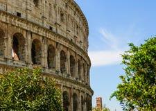 O coliseu ou o Flavian Amphitheatre imagens de stock